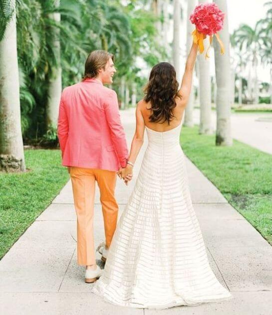 Жених с невестой в стиле Барби