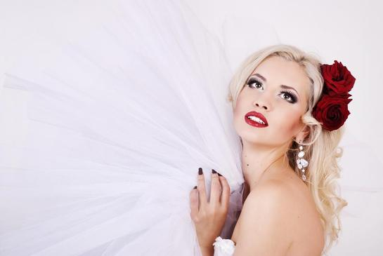Макияж невесты в стиле Лас-Вегас