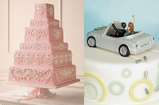 Свадебный торт в стиле Барби