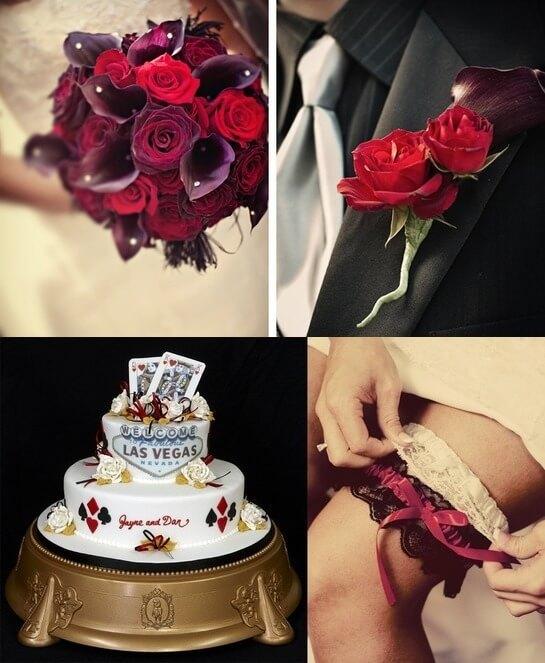 Три классических цвета в оформлении свадьбы