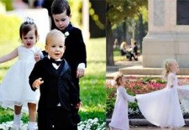 Маленькие дети на свадьбе – украшение вашего праздника