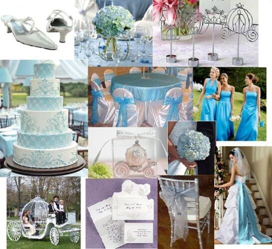 цветовая гамма свадьбы