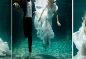 Свадьба под водой - самое необычное начало семейной жизни