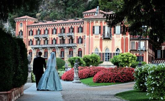 Свадьба в итальянском замке