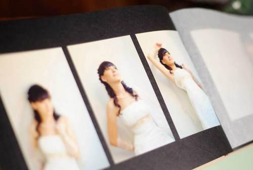 альбом с фото невесты