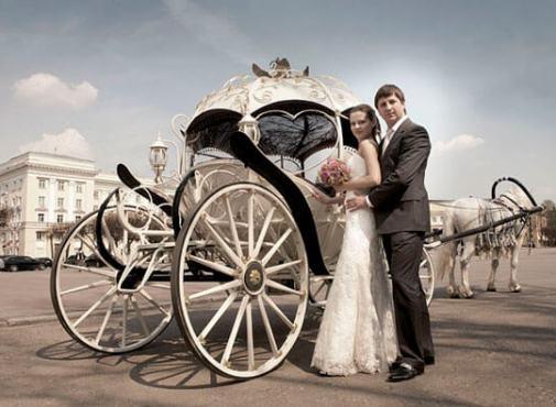 свадебный экипаж