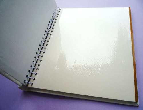 свадебный фотоальбом, пустой