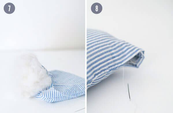 Как сшить свадебную подушку для колец своими руками