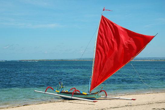 лодка с алым парусом