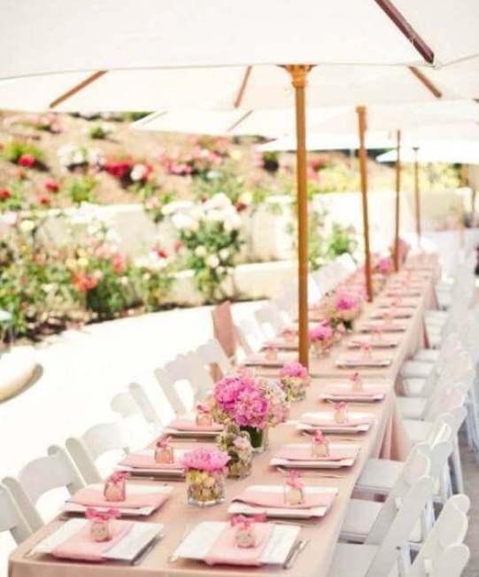 свадебный стол в шатре