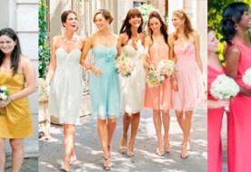 Платья для подружек невесты: как выбрать самое лучшее?