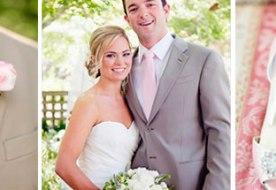 Свадьба в розовом: стильный образ невесты и  прочие элементы декора (часть 2)
