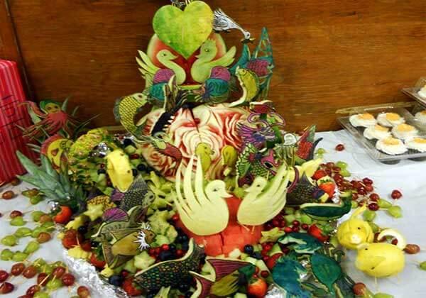 Свадьба в ягодном стиле: вкусные декорации праздника!