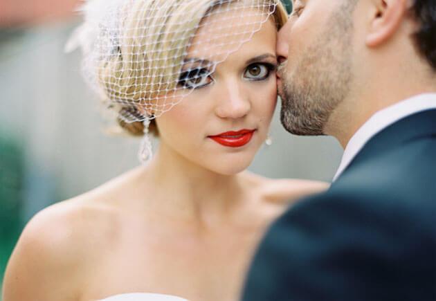 подводка глаз невесты