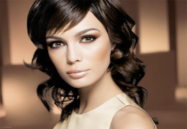 брюнетка - макияж для карих глаз