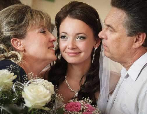цветы дарят невесте