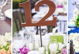 Таблички на стол: как красиво рассадить гостей на свадьбе?