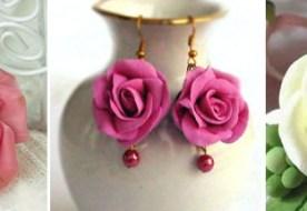 Цветок из полимерной глины: оригинальное украшение на свадьбу