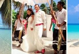 Свадьба на Мальдивах - сказочный союз любящих сердец на лоне первобытной природы!