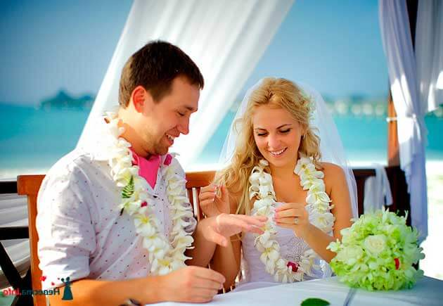 свадьба за границей у моря