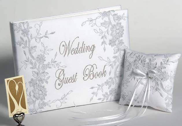 книга пожелания в белом цвете