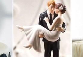 Фигурки на торт: свадебный декор сладкого стола