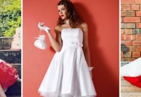 Свадебные платья в стиле 50 х: образ невесты в ретро стиле