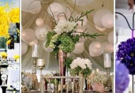 Оформление свадебного зала цветами: искусство стильной флористики своими руками