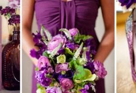 Цвет свадьбы: фиолетовый и его глубокие оттенки