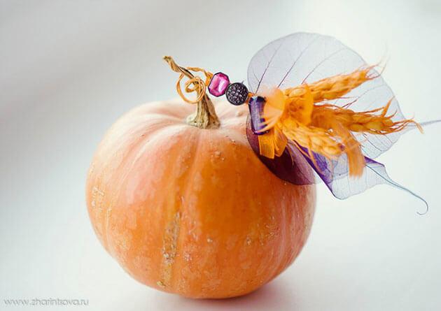 Идеи для свадебного декора осенью