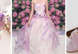 Сиреневый цвет свадьбы и его загадочные оттенки в палитре