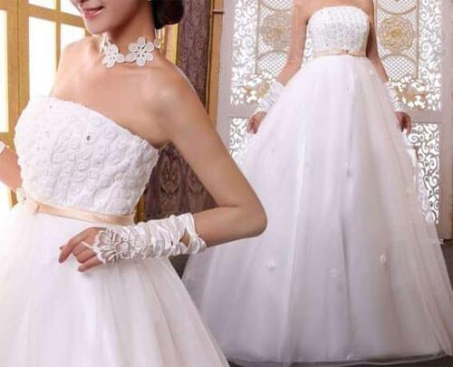 белое свадебное платье напрокат