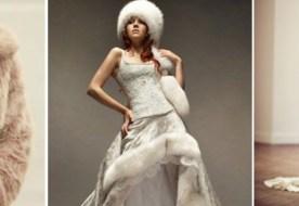 Свадьба зимой: что одеть? Выбираем стильный и теплый наряд!