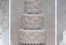 Винтажный свадебный торт из кружева: сладкая изысканность в декоре
