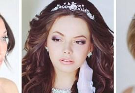 Свадебные прически с диадемой: аксессуар для настоящей королевы