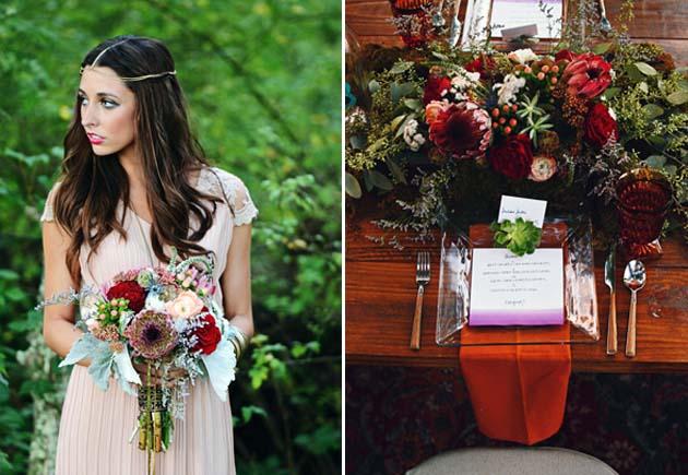 свадебный стиль бохо
