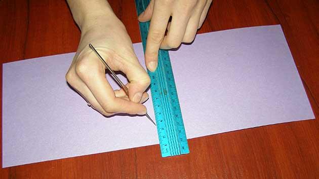 Заготовка приглашения на свадьбу своими руками