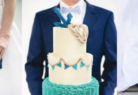 Свадьба в морском стиле: оригинальные образы жениха и невесты