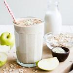 Apple N Oats Breakfast Smoothie Lulu The Baker
