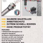 Betonbohrer Diager SDS-Plus oder SDS-Max Speedduster von LUMA Handels KG mit integrierter Staubabsaugung!