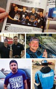 Luma III team collage.
