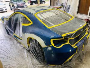 Subaru brz getting ready for primer.