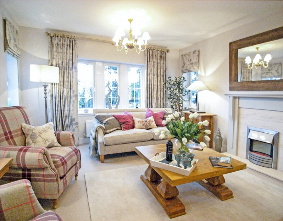 Interior Design Consultation Edinburgh - Living Room