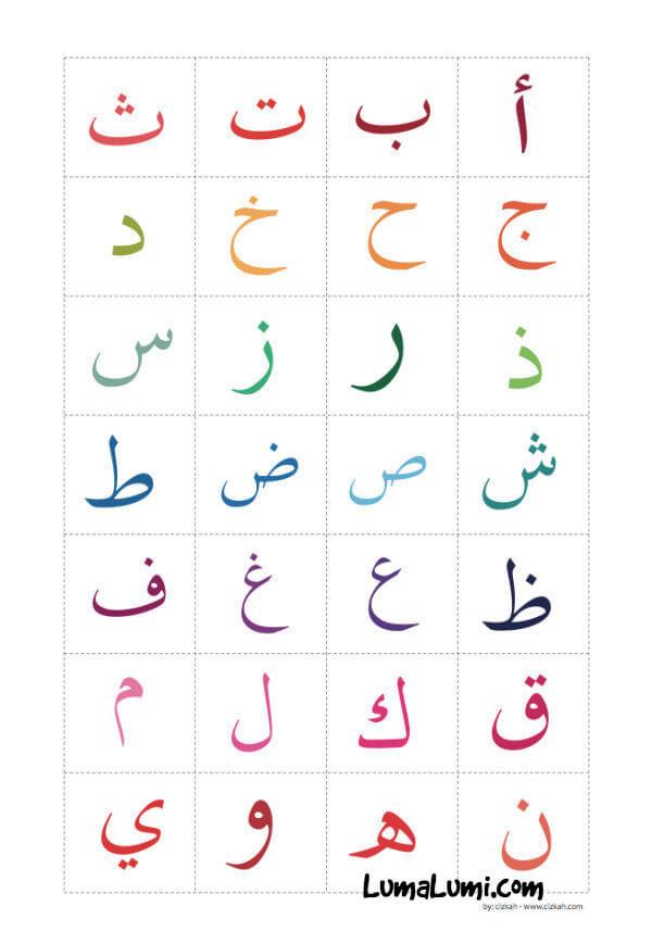belajar huruf hijaiyah poster hijaiyah