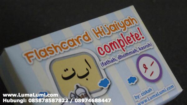 harga flash card huruf hijaiyah