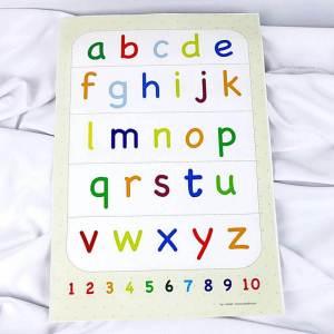belajar abjad latin huruf kecil