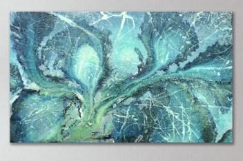 abstract resin painting aron coleman 21b