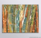 """""""Big Bamboo"""" 30x40 inch oil on canvas"""
