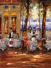 impressionist-cafe-ppainting-mostafa-keyhani 66