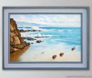 """Azure Laguna "" 24x36 in. oil/canvas"
